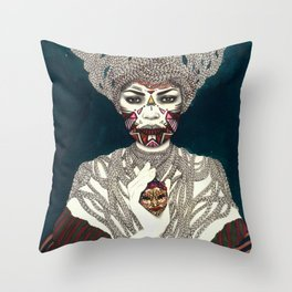Exu Throw Pillow