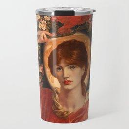 A Vision of Fiammetta 1878 Dante Gabriel Rossetti Travel Mug