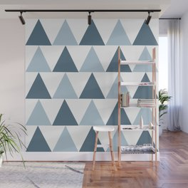 Triangle Pattern #4 Wall Mural