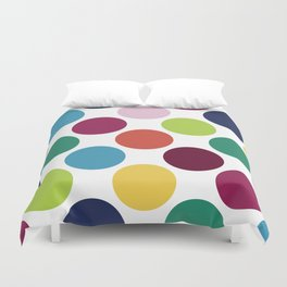 Colorful Dots Duvet Cover