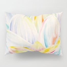 Rainbow Lotus Pillow Sham