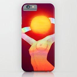 Sun Head iPhone Case