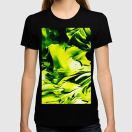 Abstract flow painting v12 T-shirt