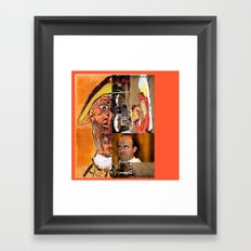 Bough to Hairtick, Come in Hairtick Framed Art Print