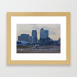 London City Airport Framed Art Print