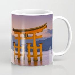 II - Miyajima torii gate near Hiroshima, Japan at sunset Coffee Mug