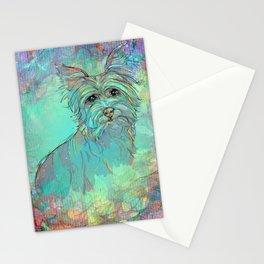 Dog Illustration ; Yorkie Stationery Cards