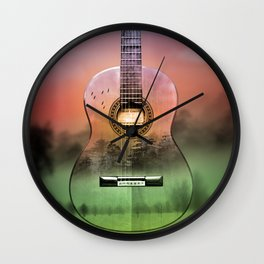 classic Spanish guitar  Wall Clock