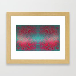 """""""Abstract psychedelic waves"""" Framed Art Print"""