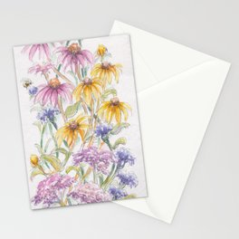 Wildflowers and Bees Stationery Cards
