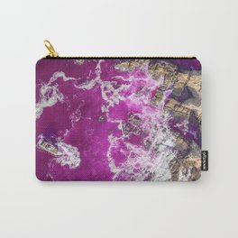 The pink sea Carry-All Pouch