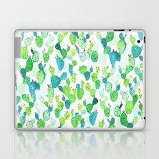 Watercolour Cacti Laptop & iPad Skin
