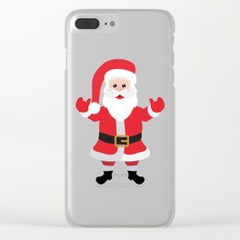Christmas Santa Claus Says Welcome to You Clear iPhone Case
