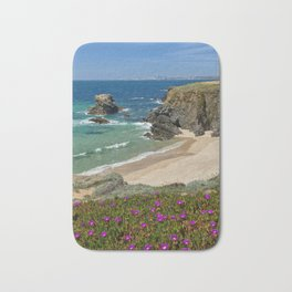 Porto Covo in Spring, Portugal Bath Mat
