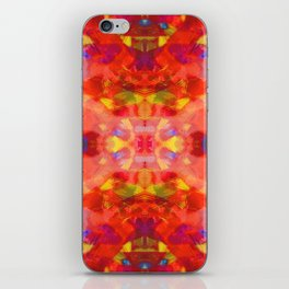 Rising on Fire iPhone Skin