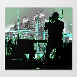 Big Sam (Trombone Man) Canvas Print