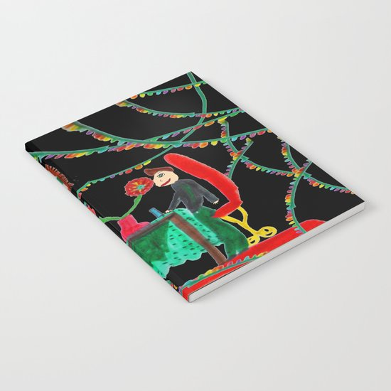 Christmas Dinner | Kids Painting Notebook