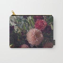 Dahlia Garden Carry-All Pouch