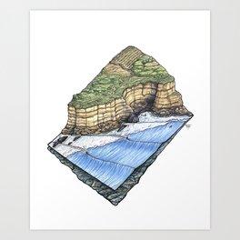 Pointreef Art Print