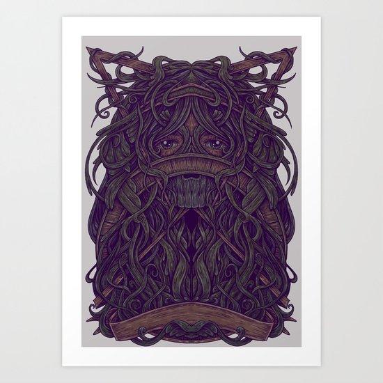 Eye Jungle Art Print