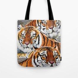 Texas Tiger Trio Tote Bag