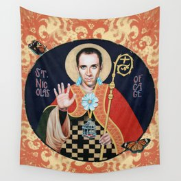 Saint Nicolas of Cage Wall Tapestry