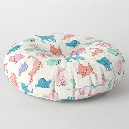 Patel Cats Floor Pillow