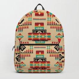 Poncho azteca Backpack