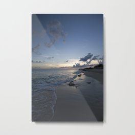 Beach line Metal Print