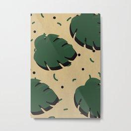 Monstera leaf 1 Metal Print