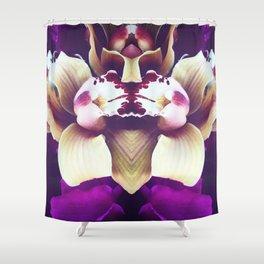 Velvet Purple Orchid Shower Curtain