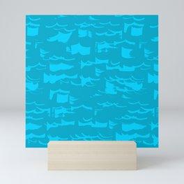 Glare on the water (1) Mini Art Print