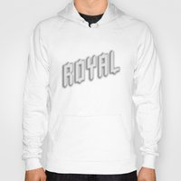 royal Hoodies featuring Royal by Tyler Shaffer