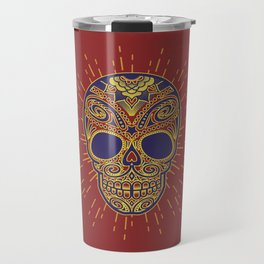 Golden catrina Travel Mug