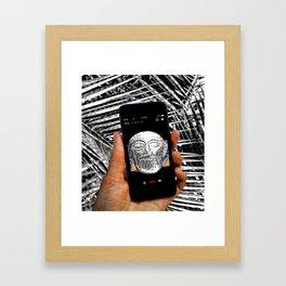 Oracle Calling Framed Art Print