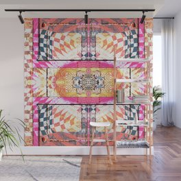 Gateway for Release:  Contemporary Abstract Wall Mural