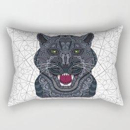 Classic Black Panther Rectangular Pillow