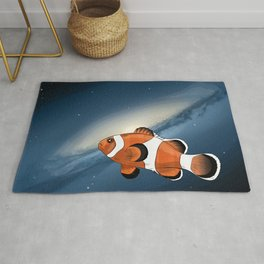 A clownfish in the universe Rug