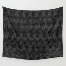 Charcoal Pixel Design Wall Tapestry
