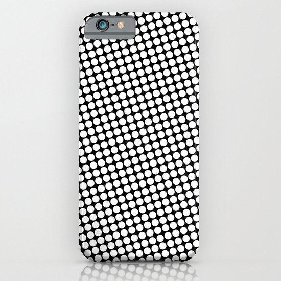 WHITE DOT iPhone & iPod Case