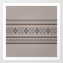 The Big Lebowski Cardigan Knit Art Print