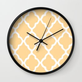 White Rombs #14 The Best Wallpaper Wall Clock