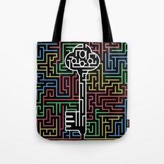 maze-black Tote Bag