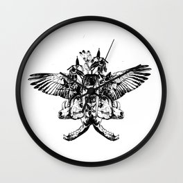 Deathshead - Belladonna Nightshade Wall Clock