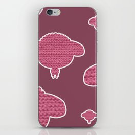 Wooly Sheep - 3 iPhone Skin