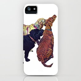 Three Amigos II iPhone Case