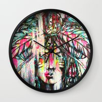 destiny Wall Clocks featuring Destiny by Mo Baretta