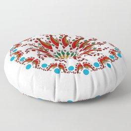 Hand drawn Mandala design Floor Pillow