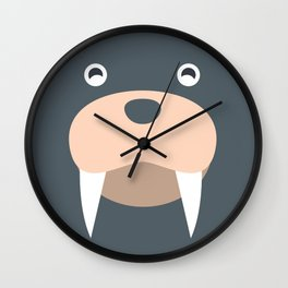 Sea Lions Baby Wall Clock