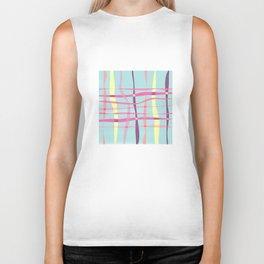Pop-Stripes #society6 #decor #buyArt Biker Tank